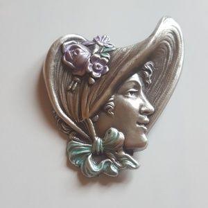 Unique Vintage Brooch